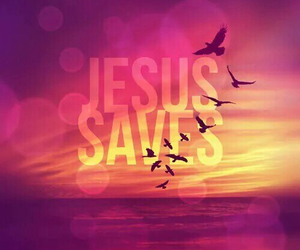 jesus, background, and saves image