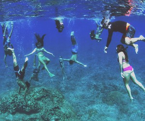 fun, summer, and ocean image