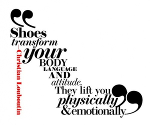 shoes, quotes, and heels image