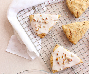 maple, scones, and nuts image