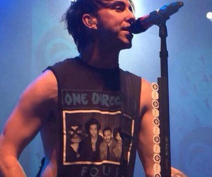 alex gaskarth, all time low, and one direction image