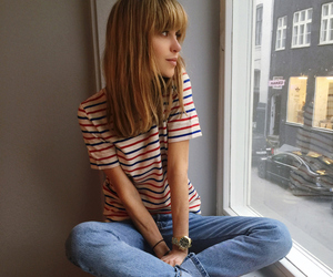 cute, blond, and jeans image