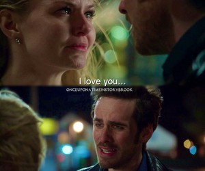 hook, once upon a time, and love image