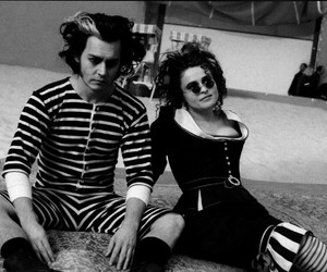 johnny depp, helena bonham carter, and sweeney todd image