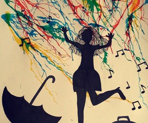 art, colours, and dance image