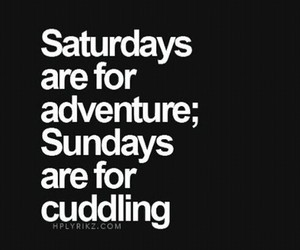 adventure, cuddling, and fun image
