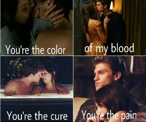 couple, pretty little liars, and keegan allen image