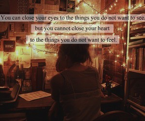 quote, life, and feelings image