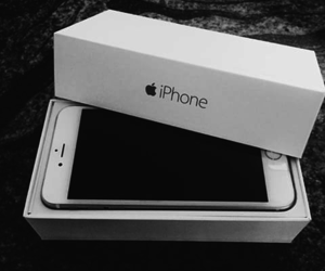 iphone, white, and 5s image