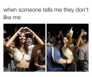 funny, kendall jenner, and lol image