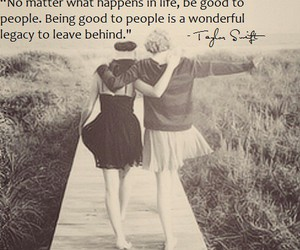 quotes be nice love image