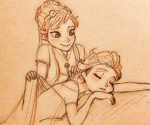 disney princess, frozen, and tired image