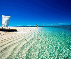 beach, sea, and madagascar image