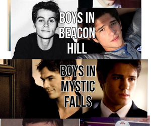 boys, town, and the vampire diaries image