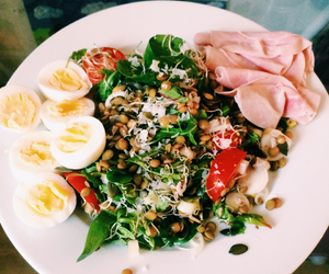 delicious, egg, and fitness image