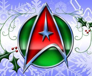 star trek, x-mas, and starfleet image