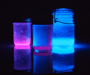 diy, glow sticks, and do it yourself image