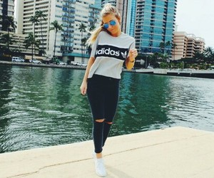 adidas, style, and summer image