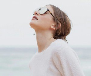 girl, sunglasses, and photography image