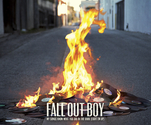 fall out boy, fire, and FOB image