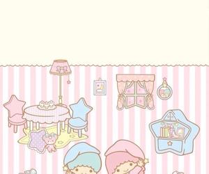 sanrio, kiki&lala, and sleep image
