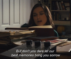 movie, memories, and quotes image