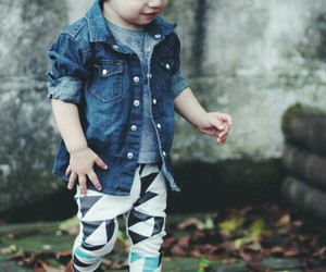 fashion, baby, and cute image