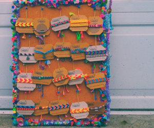 art, beach, and bracelets image