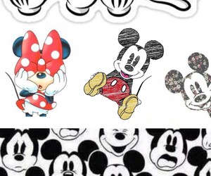Collage, micky mouse, and minnie mouse image
