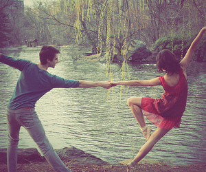 dance, love, and couple image