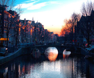 amsterdam, city, and bridge image