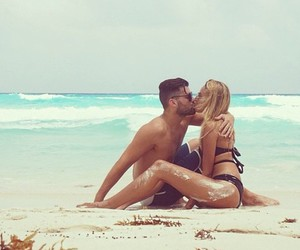 kiss, sea, and summer image