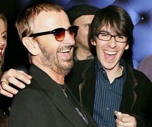 ringo starr, Dhani Harrison, and the beatles image