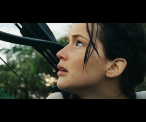 beautiful, hunger games, and eyes image