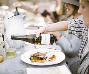 wine, food, and luxury image