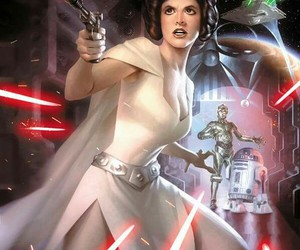 Best, leia, and star image