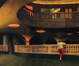 edward hopper, painting, and theater image