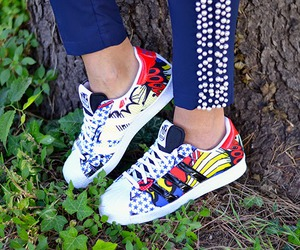 fashion blogger, shoes, and sneakers image