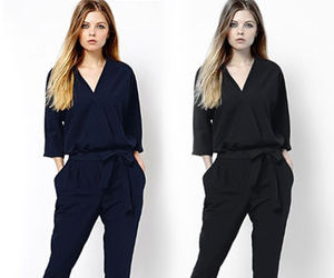 fashion, style, and jampsuit image