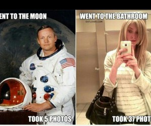 funny, lol, and moon image
