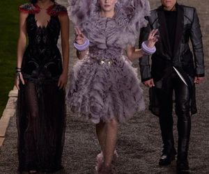 the hunger games, katniss everdeen, and effie trinket image