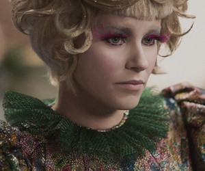 effie trinket, the hunger games, and catching fire image
