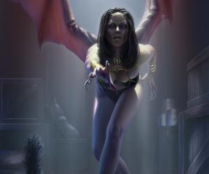 art, demon, and fantasy image