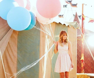 balloons, blond, and blonde image