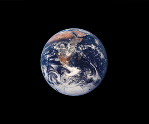 planet and earth image