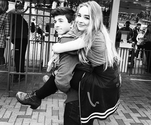 sabrina carpenter, bradley steven perry, and couple image