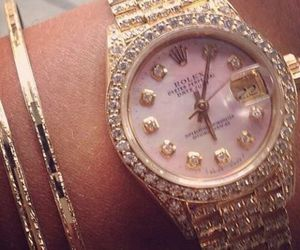 luxury, rolex, and watch image
