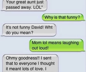 lol, funny, and text image