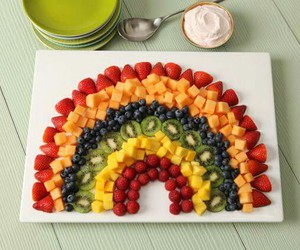 delicious, fruit salad, and food image