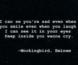 eminem, mockingbird, and life image